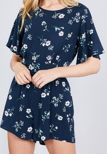 Pants - SHORT SLEEVE ROMPER